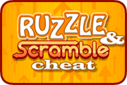 Ruzzle & Scramble Cheat
